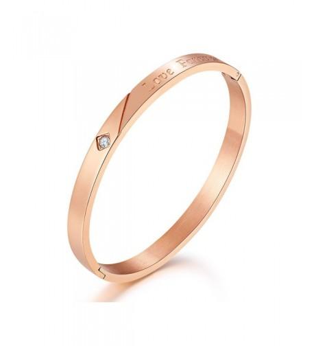 Mocalady Jewelry Bracelet Stainless Anniversary