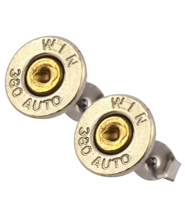 Little Black Gun Bullet Earrings