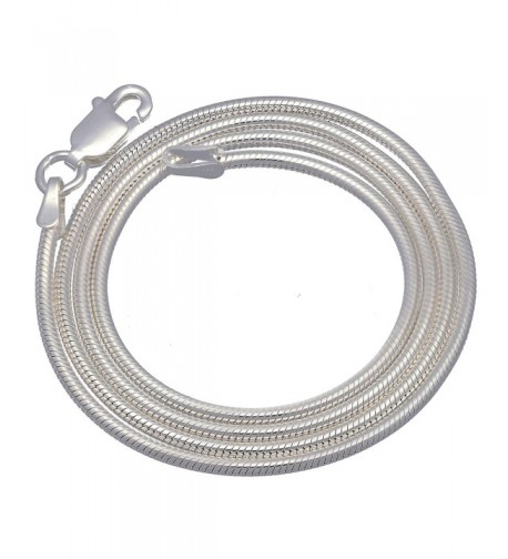 Italian Sterling Silver Necklace Lengths