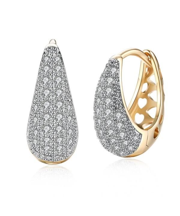 Zirconia Filigree Earrings Diameter DreamSter