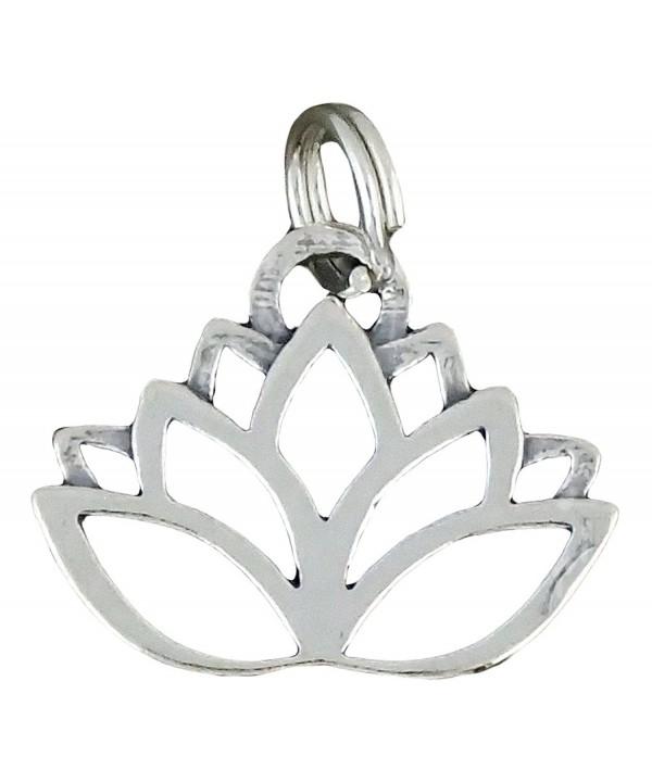 Corinna Maria Sterling Silver Lotus Flower