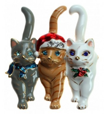 Lova Jewelry Christmas Triple Cat