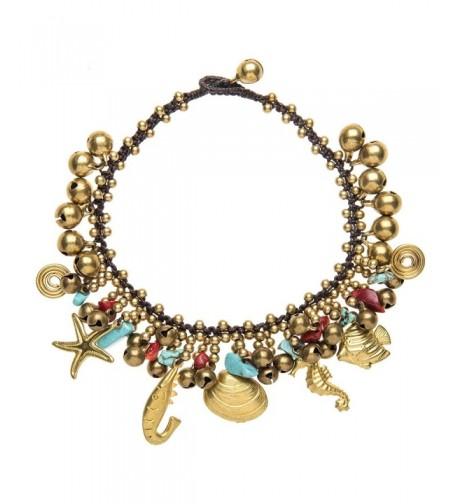 81stgeneration Womens Simulated Turquoise Bracelet