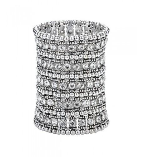 Szxc Jewelry Multilayer Crystal Bracelet