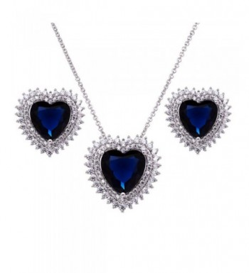 Forever Sapphire Pendant Necklace Jewelry