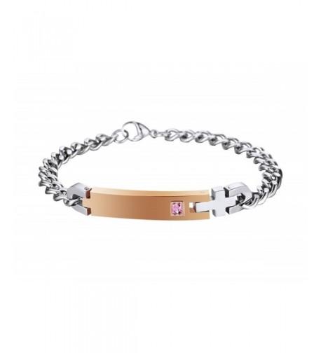 Personalized Matching Bracelets Titanium Stainless