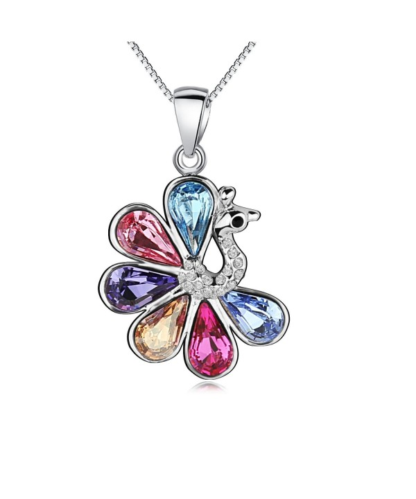 Pealrich Peafowls Swarovski Girlfriend Multicolor