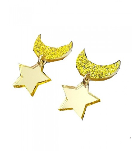 Sailor Moon Star Shape Earrings