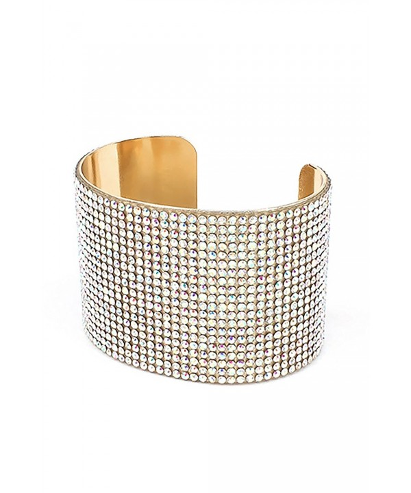 Womens Cubic Rhinestones Bracelet PB7011