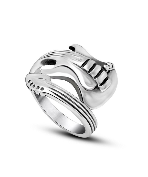 Elove Fashion Jewelry Guitar Stainless