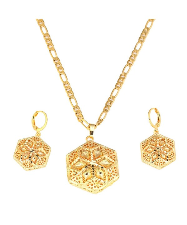 Ethiopian Wedding Jewelry Necklace Gold