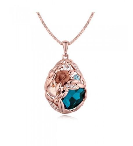 Fashion Necklace Austrian Crystals Necklaces