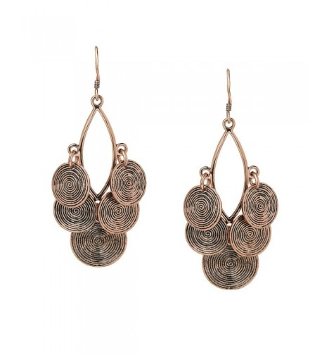 She Lian Filigree Statement Earrings