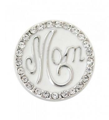 Interchangeable Snap Jewelry Enamel Mom