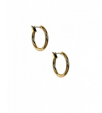 Napier Classics Gold Tone Small Earrings