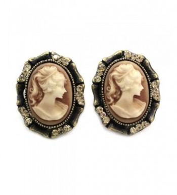 Light Brown Earrings Fashion Jewelry