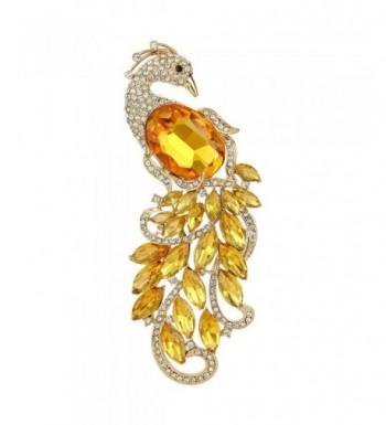 EVER FAITH Gold Tone Austrian Crystal