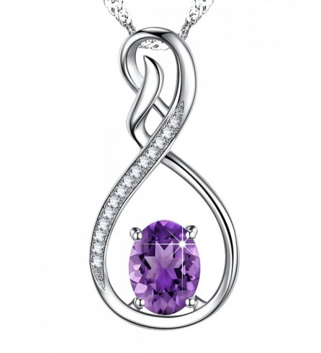 Amethyst Gemstone Birthstone Anniversary Girlfriend