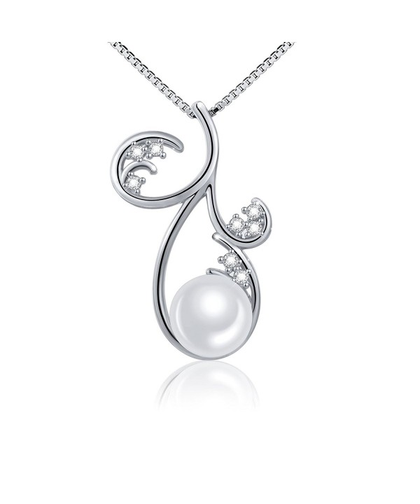 ATHENAA Sterling Silver Pendant Necklace