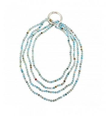 BjB Faceted Beaded Infinity Necklace