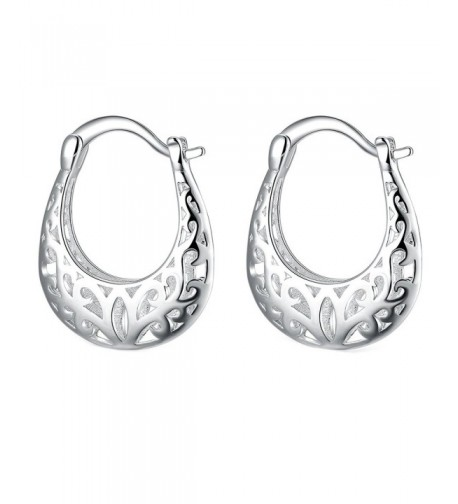 Foreverstore Sterling Silver Earrings Fashion