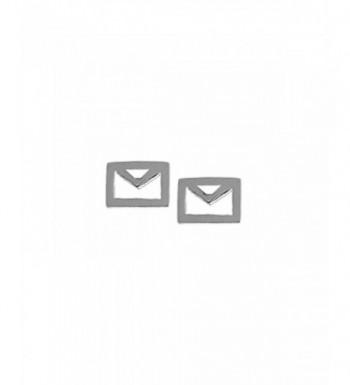 Boma Sterling Silver Envelope Earrings