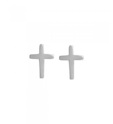 Boma Sterling Silver Cross Earrings