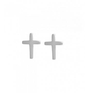 Boma Sterling Silver Cross Earrings