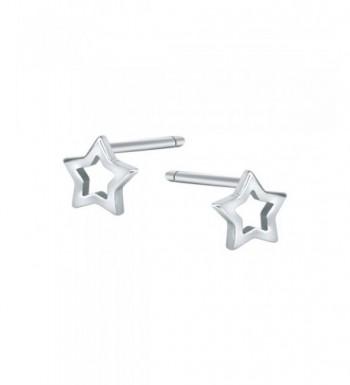 AoedeJ Earrings Sterling Silver Minimalist