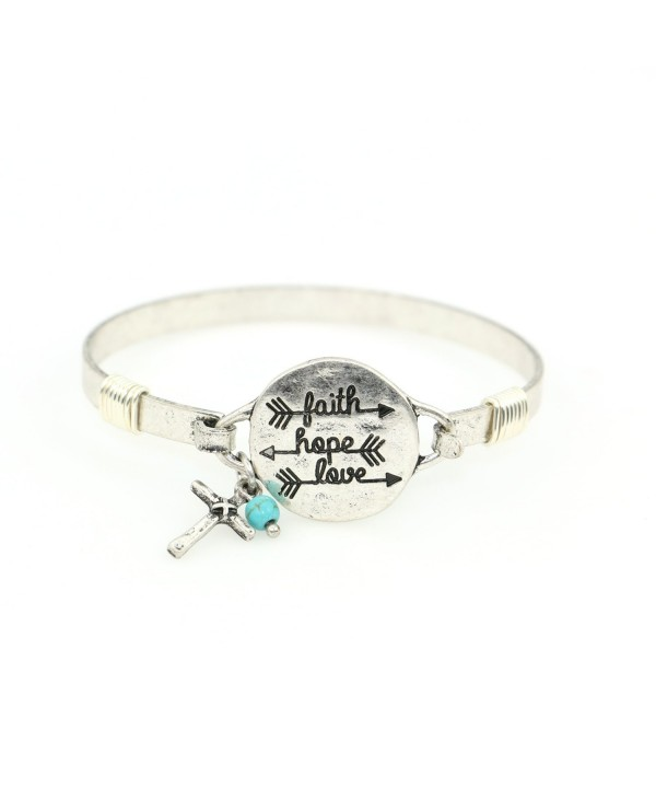 Handmade Beautiful Christian Bangle Bracelet