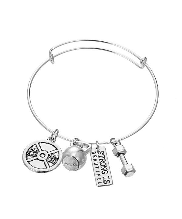 Strong Beautiful Bangle Pendant Bracelet