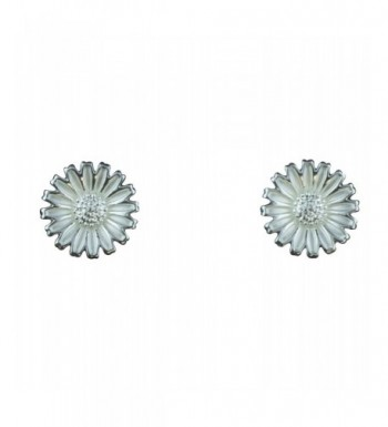 Takobia Womens Silver Plated Sunflower