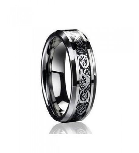 Dragon Tungsten Carbide Wedding engagement