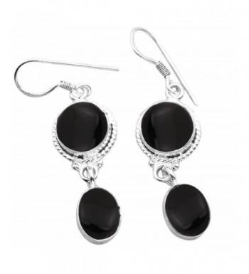 16 40ctw Silver Earrings Sterling Jewelry