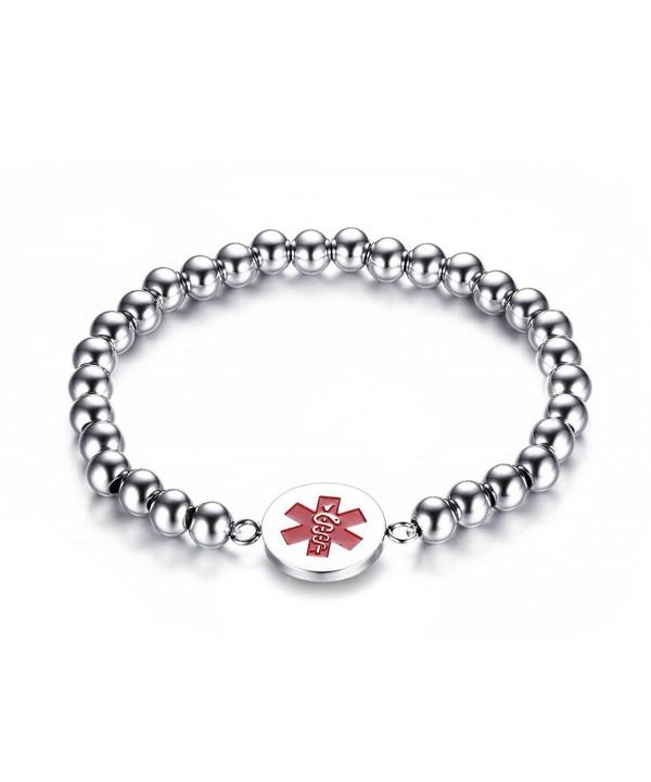 Engraving Stainless Steel Medical Bracelet