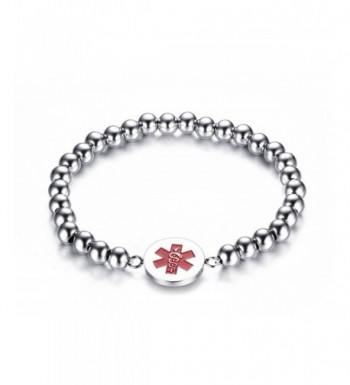 Engraving Stainless Steel Medical Bracelet