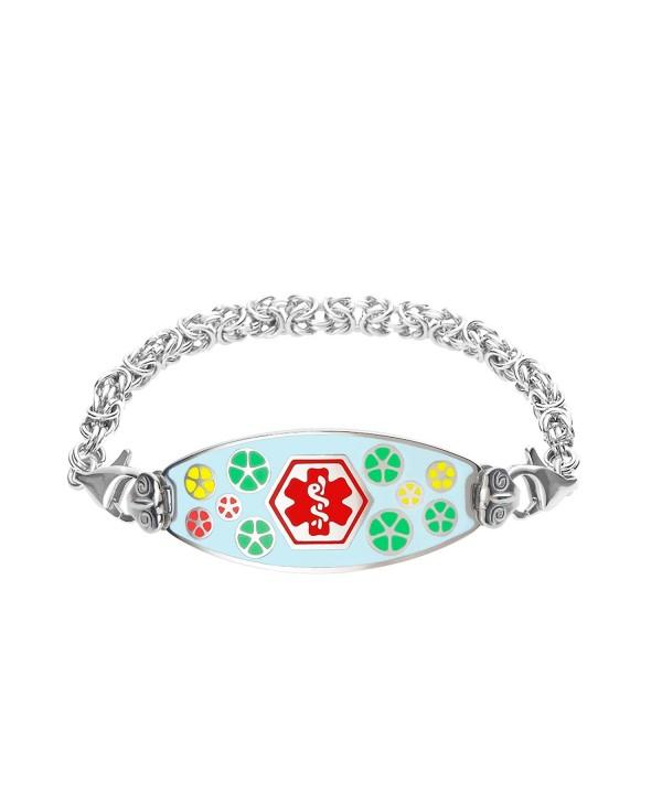Divoti Engraved Bracelet Handmade Byzantine