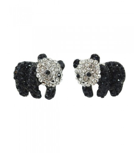 Animal Kawaii Crtstal Sparkling Earrings