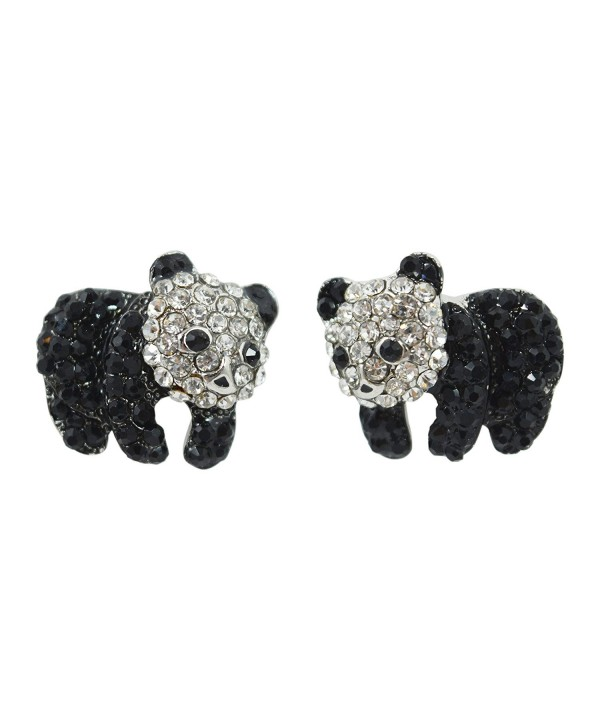 Animal Kawaii Crtstal Sparkling Earrings