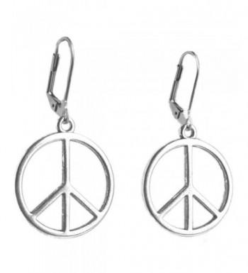 Sabai NYC Silvertone Hippie Earrings