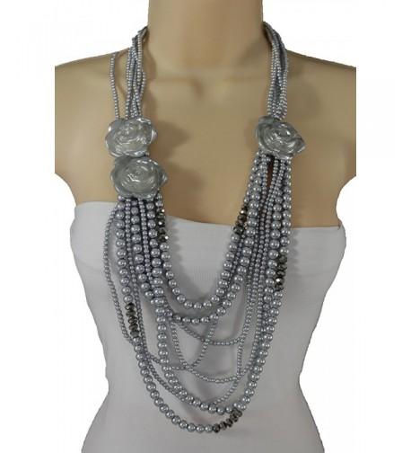 Strands Fashion Jewelry Necklace Pendant