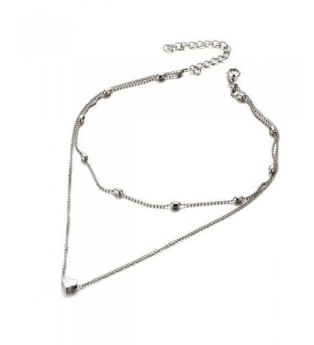 Susenstone Multilayer Necklace Pendant Jewelry