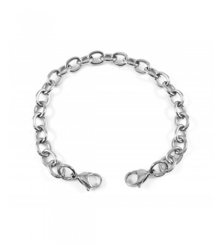 MyIDDr Interchangeable Bracelet Stainless Link