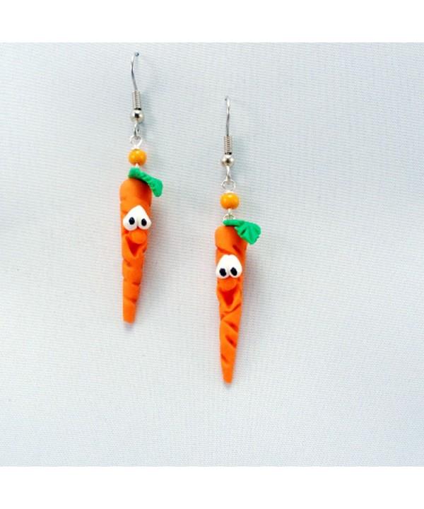 MMCreations Carrot Dangle Earrings