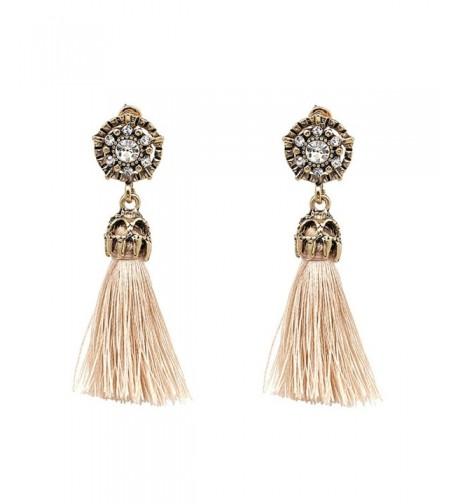 Vintage Earring Hollow Crystal Earrings