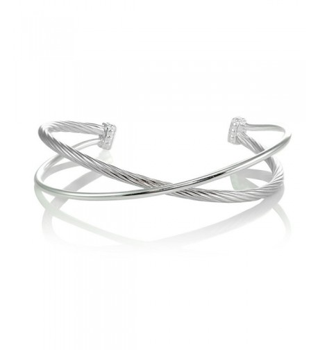 Sterling Silver Polished Bangle Bracelet