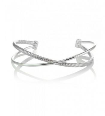 Sterling Silver Polished Bangle Bracelet