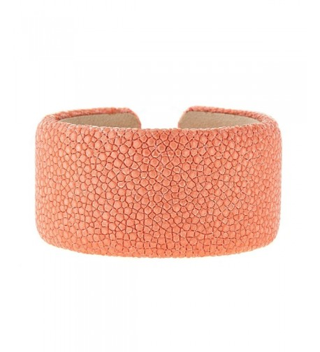 Metro Jewelry Stingray Peach Bangle