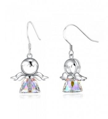 PLATO Earrings Sterling Swarovski Crystals