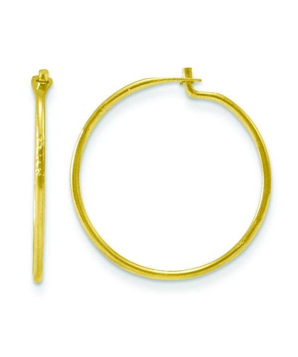 14k Maddi Endless Hoop Earrings